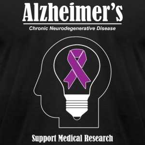 Alzheimer's Awareness - Alzheimer's Awareness - Men's T-Shirt by American Apparel