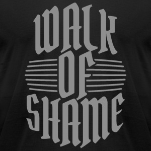- Walk of shame - Men's T-Shirt by American Apparel