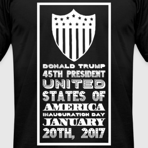 Donald trump - Donald Trump 45th President Unite - Men's T-Shirt by American Apparel