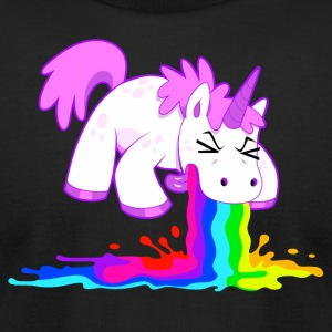 Unicorn - Men's T-Shirt by American Apparel