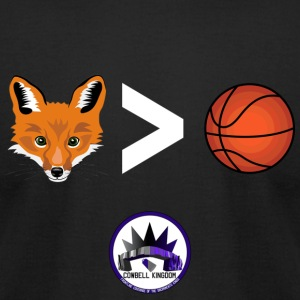 Fox is Greater-than Ball - Men's T-Shirt by American Apparel