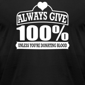 Blood Donor - Men's T-Shirt by American Apparel