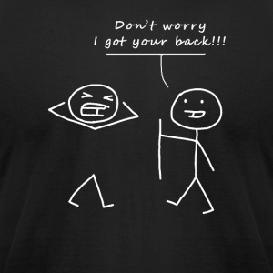 Don't worry - Men's T-Shirt by American Apparel