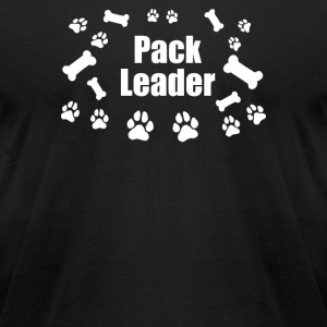 Pack Leader Funny Novelty - Men's T-Shirt by American Apparel