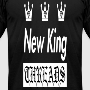 New King's Crowns - Men's T-Shirt by American Apparel
