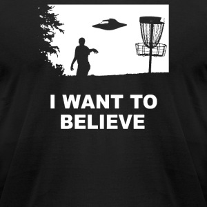 I Want To Believe - Men's T-Shirt by American Apparel