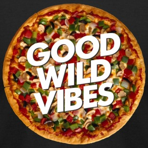 pizza good vibes - Men's T-Shirt by American Apparel