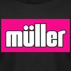 muller pink - Men's T-Shirt by American Apparel