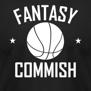 Fantasy Basketball Commish - Men's T-Shirt by American Apparel