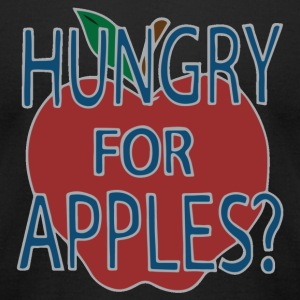 Hungry For Apples by Jerry Smith (Alt) - Men's T-Shirt by American Apparel