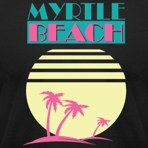 Myrtle Beach - Men's T-Shirt by American Apparel
