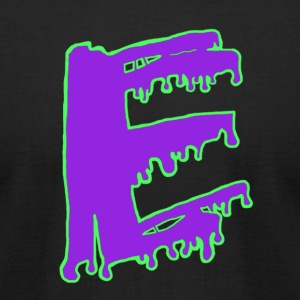 Colored Ooze Logo - Men's T-Shirt by American Apparel