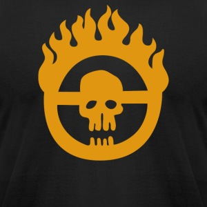 Immortan Joe Insignia Mad Max Movie - Men's T-Shirt by American Apparel