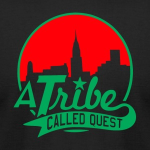 a_tribe_called_quest_green_red - Men's T-Shirt by American Apparel