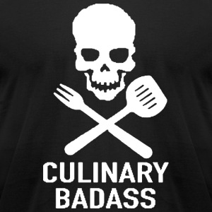 New Culinary Badass - Men's T-Shirt by American Apparel
