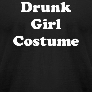 Drunk Girl Costume - Men's T-Shirt by American Apparel