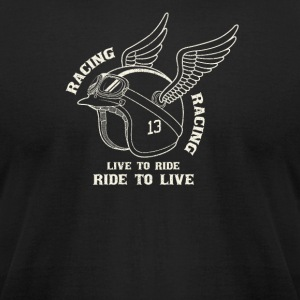 Life to ride - Men's T-Shirt by American Apparel