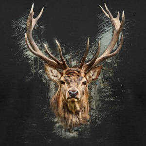 The Deer - Men's T-Shirt by American Apparel