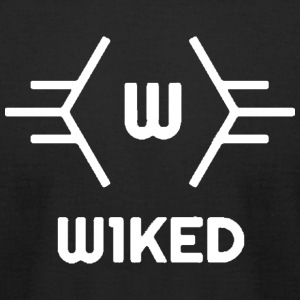 W1KED_Logo - Men's T-Shirt by American Apparel