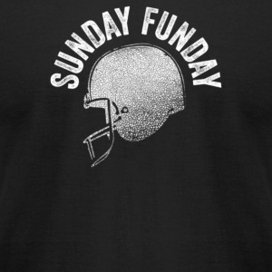 Sunday Funday - Men's T-Shirt by American Apparel