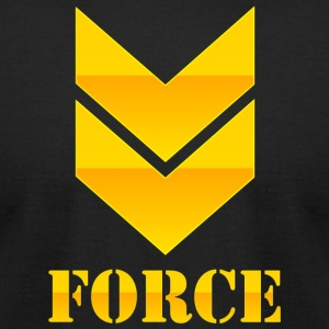 FORCE - Men's T-Shirt by American Apparel