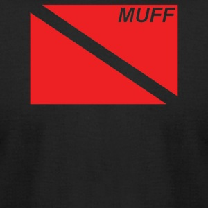 Muff Dive Flag - Men's T-Shirt by American Apparel
