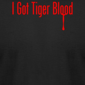 I Got Tiger Blood - Men's T-Shirt by American Apparel