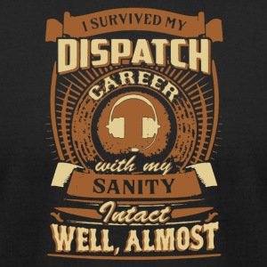 Retired Dispatcher Tee Shirt - Men's T-Shirt by American Apparel