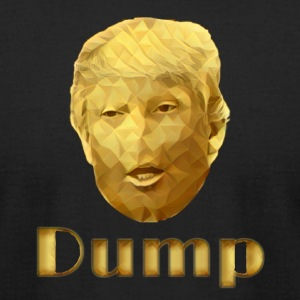 Dump Trump - Men's T-Shirt by American Apparel