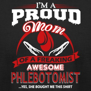 Phlebotomist Mom Shirts - Men's T-Shirt by American Apparel