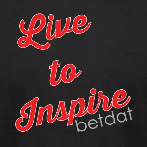 Live to inspire - Men's T-Shirt by American Apparel