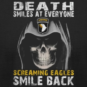 Death smiles at everyone shirt - Men's T-Shirt by American Apparel