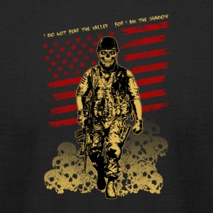Skull Soldier - American Marine - Men's T-Shirt by American Apparel