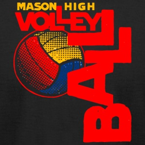 MASON HIGH VOLLEYBALL - Men's T-Shirt by American Apparel