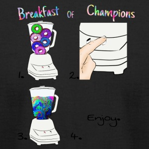 Breakfast of Champions Recipe - Men's T-Shirt by American Apparel