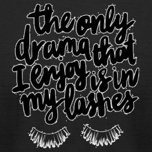 Drama Lashes - Men's T-Shirt by American Apparel