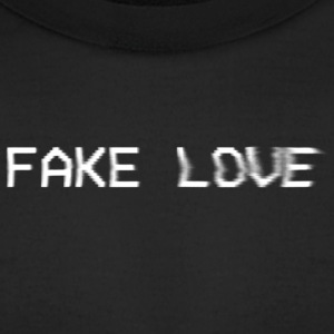 Fake Love - Men's T-Shirt by American Apparel