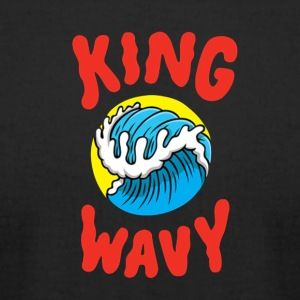 KYLE - King Wavy - Men's T-Shirt by American Apparel