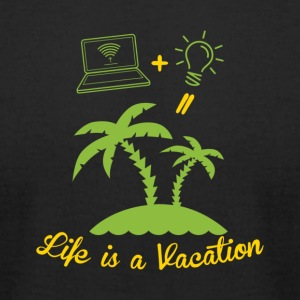 Vacation - Men's T-Shirt by American Apparel