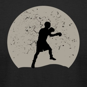 Boxing Full Moon - Men's T-Shirt by American Apparel