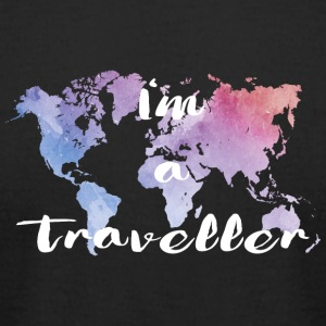 I'm a traveller - Men's T-Shirt by American Apparel