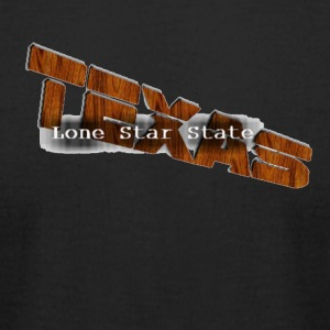 Texas Shirt 'Lone Star State' Overlay Exclusive - Men's T-Shirt by American Apparel