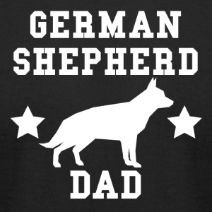 German Shepherd Dad - Men's T-Shirt by American Apparel
