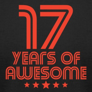 17 Years Of Awesome 17th Birthday - Men's T-Shirt by American Apparel