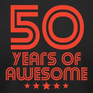 50 Years Of Awesome 50th Birthday - Men's T-Shirt by American Apparel