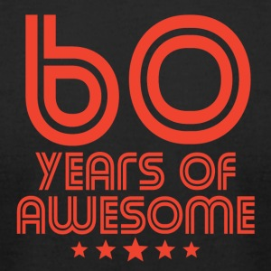 60 Years Of Awesome 60th Birthday - Men's T-Shirt by American Apparel