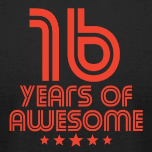 16 Years Of Awesome 16th Birthday - Men's T-Shirt by American Apparel