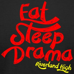 Eat Sleep Drama Riverland High - Men's T-Shirt by American Apparel