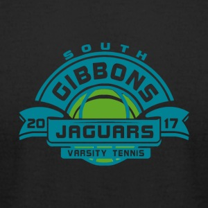 SOUTH GIBBONS JAGUARS VARSITY TEAM 20 17 - Men's T-Shirt by American Apparel