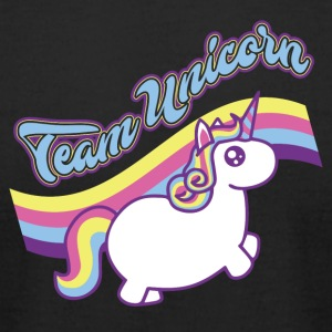 Team Unicorn! Funny! Stylish! - Men's T-Shirt by American Apparel